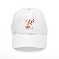 PLAYS Goats Baseball Baseball Cap