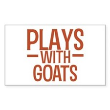 PLAYS Goats Decal