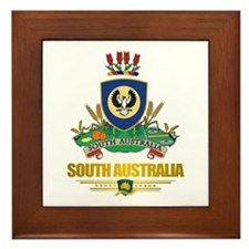 """South Australia COA"" Framed Tile"