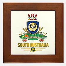 """""""South Australia COA"""" Framed Tile"""