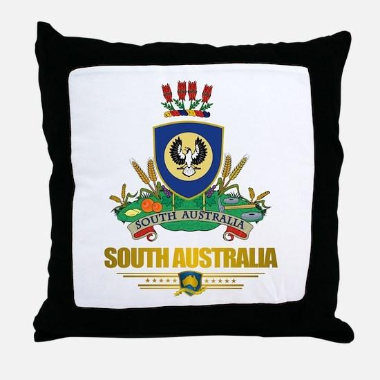 """""""South Australia COA"""" Throw Pillow"""