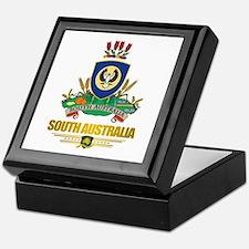 """""""South Australia COA"""" Keepsake Box"""
