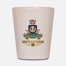 """""""South Australia COA"""" Shot Glass"""