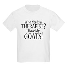 THERAPIST Goats T-Shirt