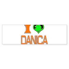 IHDanica Bumper Sticker