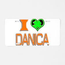 IHDanica Aluminum License Plate