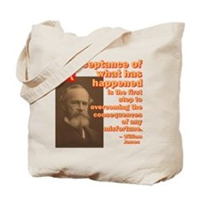 Acceptance The First Step Tote Bag