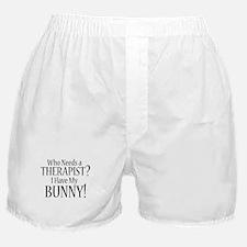 THERAPIST Bunny Boxer Shorts