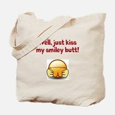 smiley butt Tote Bag