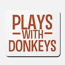 PLAYS Donkeys Mousepad