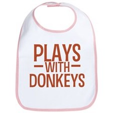 PLAYS Donkeys Bib
