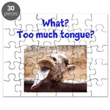 Giraffe tongue Puzzle