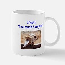 Giraffe tongue Mug
