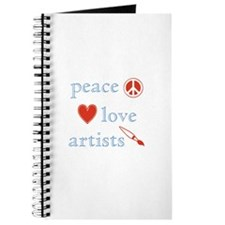Peace, Love and Artists Journal