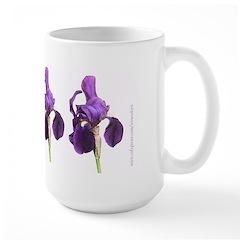 Bearded Iris Mug