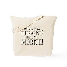 THERAPIST Morkie Tote Bag