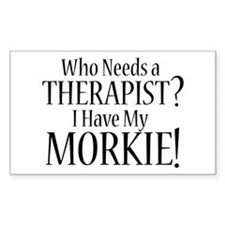 THERAPIST Morkie Decal