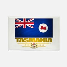 """Tasmania Flag"" Rectangle Magnet"