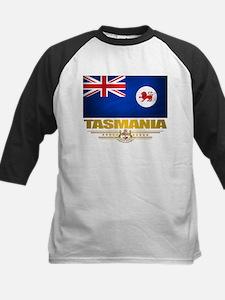 """Tasmania Flag"" Kids Baseball Jersey"