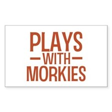 PLAYS Morkies Decal