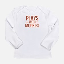 PLAYS Morkies Long Sleeve Infant T-Shirt