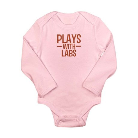 PLAYS Labs Long Sleeve Infant Bodysuit