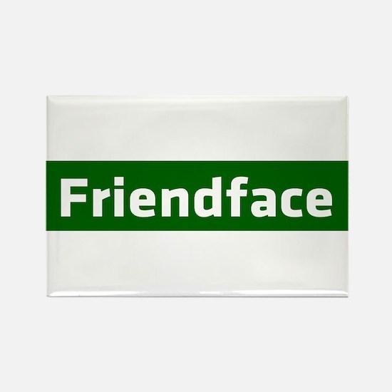IT Crowd - Friendface Rectangle Magnet