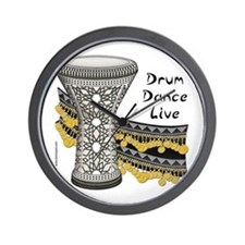 Drum Dance Live Wall Clock