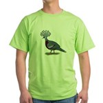 Victoria Crowned Pigeon Green T-Shirt