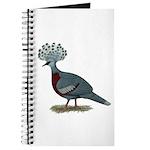 Victoria Crowned Pigeon Journal