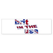 Brit in the USA Bumper Bumper Sticker