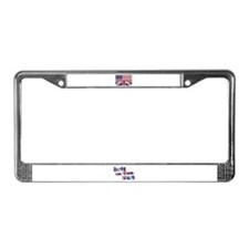 Brit in the USA License Plate Frame