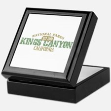 Kings Canyon National Park CA Keepsake Box