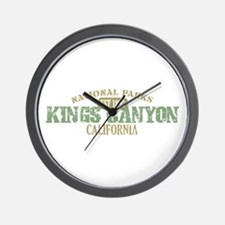 Kings Canyon National Park CA Wall Clock