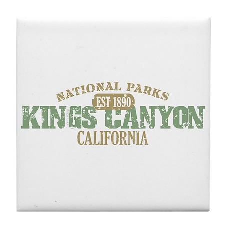 Kings Canyon National Park CA Tile Coaster