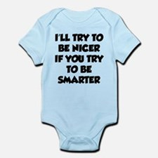 Be Smarter Infant Bodysuit
