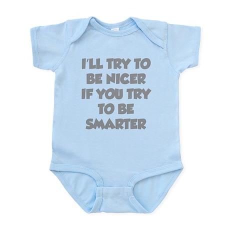 Be Smarter Infant Bodysuit