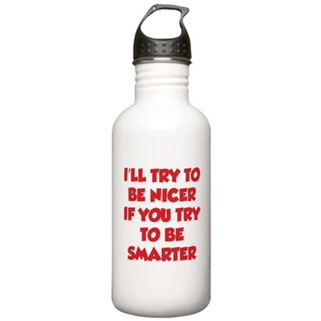 Be Smarter Stainless Water Bottle 1.0L