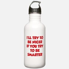 Be Smarter Water Bottle