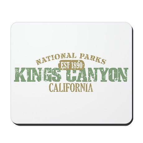 Kings Canyon National Park CA Mousepad