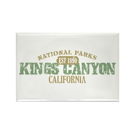 Kings Canyon National Park CA Rectangle Magnet (10