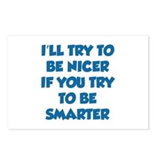 Be Smarter Postcards (Package of 8)