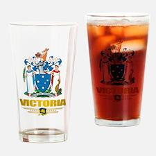 """""""Victoria COA"""" Drinking Glass"""