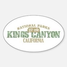 Kings Canyon National Park CA Decal