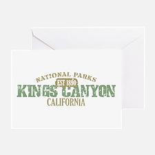 Kings Canyon National Park CA Greeting Card