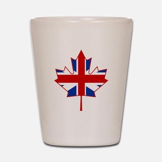 UK Maple Shot Glass