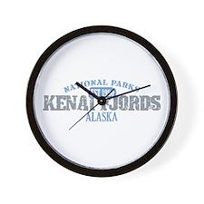 Kenai Fjords National Park AK Wall Clock