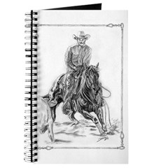Cutting Horse Drawing Journal