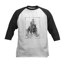 Cutting Horse Drawing Tee