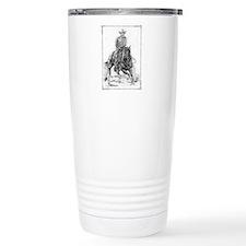 Cutting Horse Drawing Travel Mug